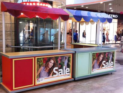 Counters designed malls