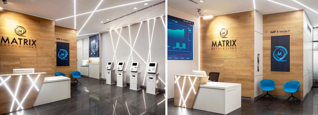 עיצוב מתחם מסחרי לחברת מטריקס